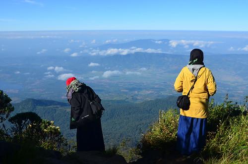Menikmati Panorama Pegunungan