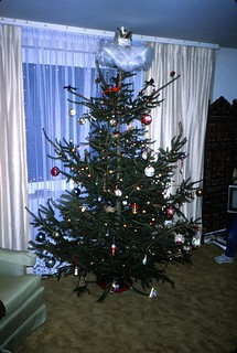 West Germany    -   Vaihingen   -   Patch Barracks   -   Bldg 2401  A6    -  Christmas Tree   -   December 1985