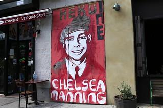 Chelsea Manning mural