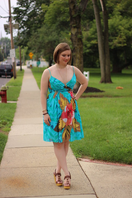 BCBG summer dress 2