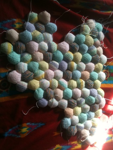 Hexi blanket progress