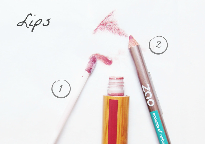 Zao cosmetics lips i