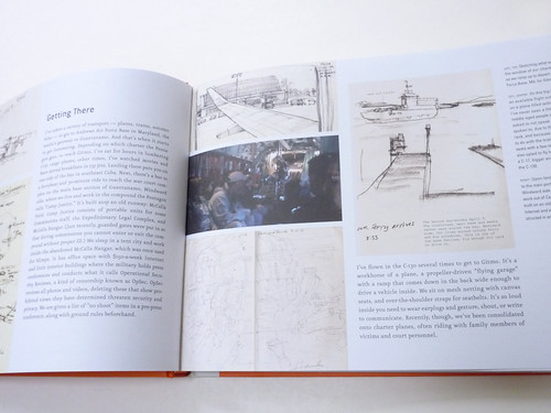 Sketching Guantanamo: Court Sketches of the Military Tribunals, 2006-2013 by Janet Hamlin - detail