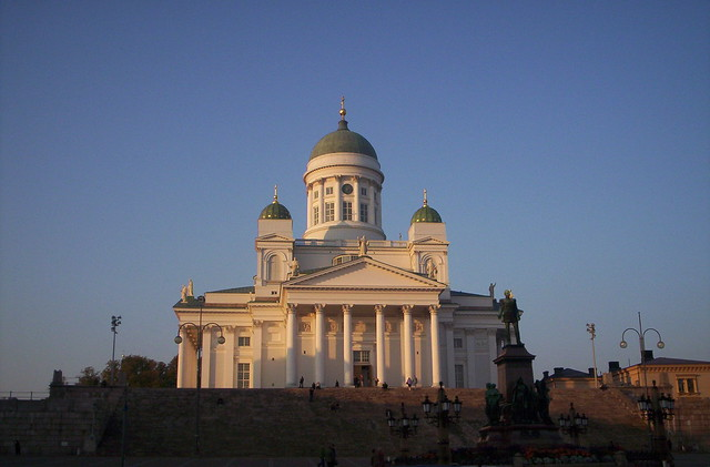 Helsinki Cathedral: the white cathedral