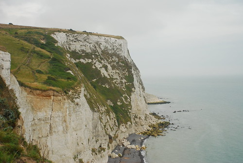 有植物生長的白崖,代表底質穩定,不易受侵蝕崩落。