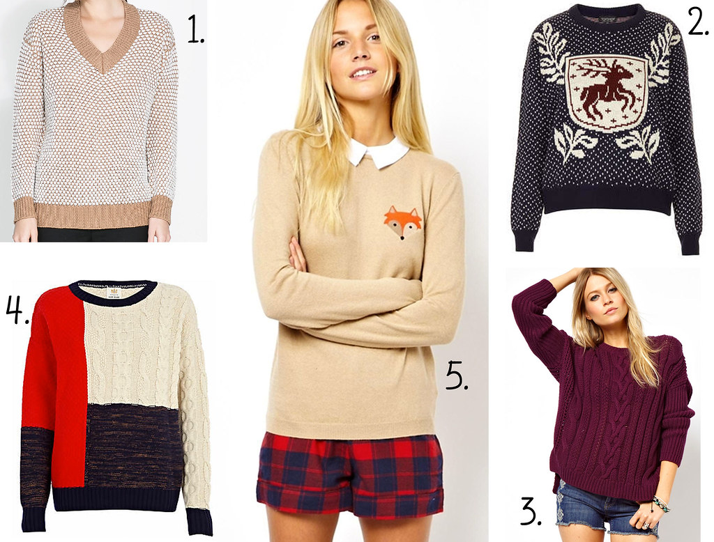 autumn wishlist jumpers