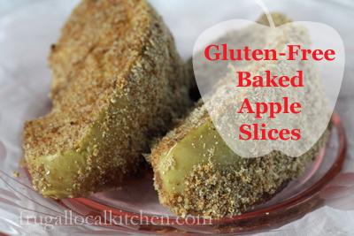 Gluten Free Baked Apple Slices