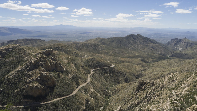 Catalina Highway climbing up Mount Lemmon, Coronado National Forest