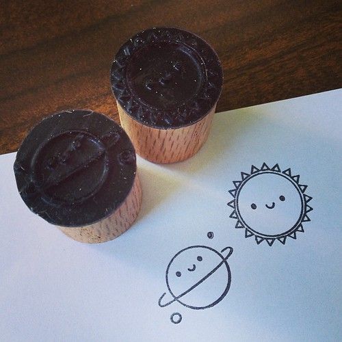 Coming soon - Asking For Trouble rubber stamps! Handmade in collaboration with Serious Stamp, this is sneak peek #1!