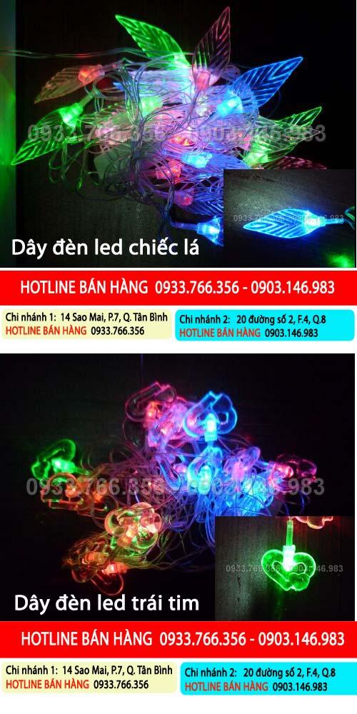 Đèn trang trí Noel giá rẻ nhất 2012