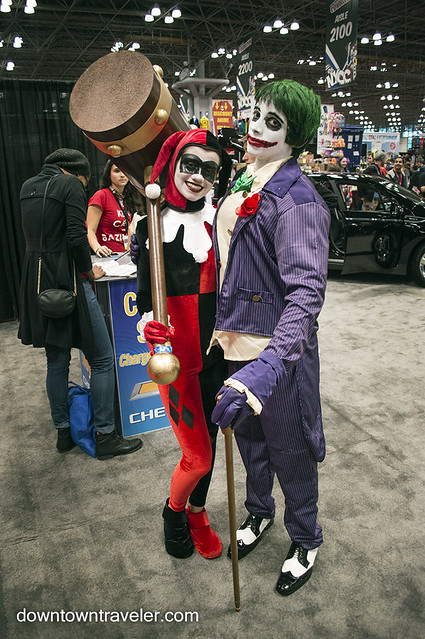 NY Comic Con Couples Costume Harley Quinn Joker
