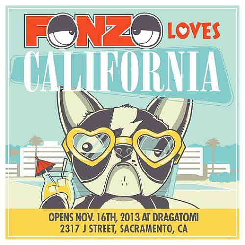 Fonzo Loves California. by [rich]