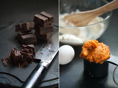 Pumpkin Brownie Ingredients