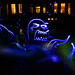 Angry Octopus Light Painting by lomokev