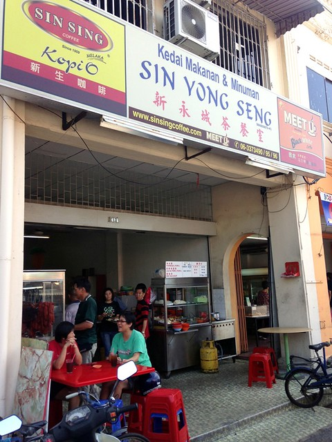 sin yong seng - melaka