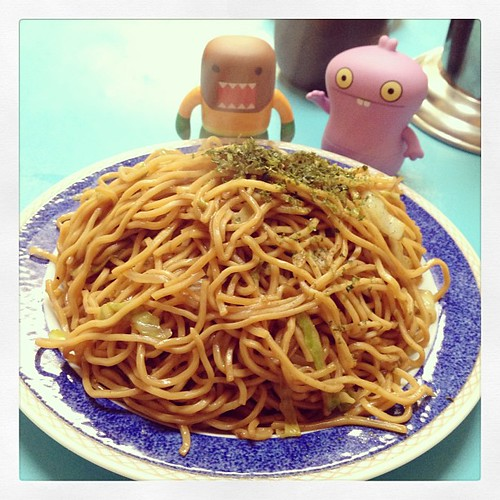 Fried Sauce Noodle #domo #uglydoll