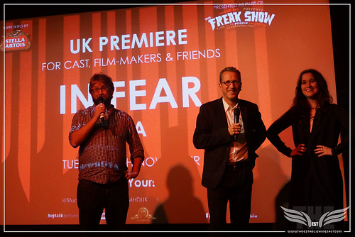 The Establishing Shot: IN FEAR PREMIERE - TOTAL FILM's JAMIE GRAHAM, DIRECTOR JEREMY LOVERING & STAR ALICE ENGLERT INTRODUCE IN FEAR &  @ THE ICA PRESENTED BY STELLA ARTOIS by Craig Grobler
