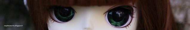 Agatha's eyes