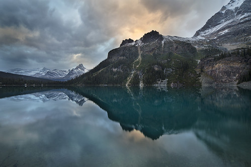 park lake cloudy national ohara yoho yohonationalpark bunlee bunleephotography