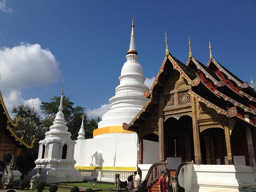 One of many temples