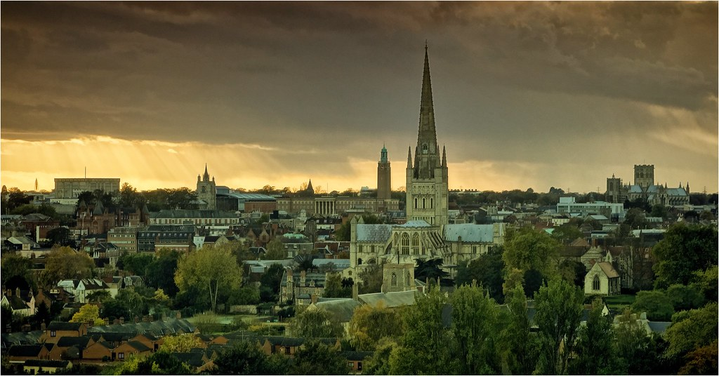 R T Pointer Norwich Historical Skylines - ...