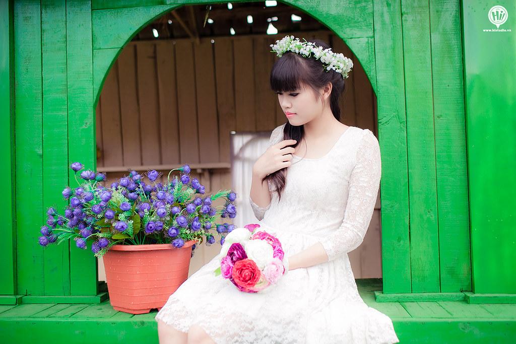 Couple sweet : Huy & Huyền Min