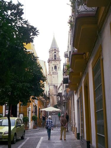 Kirche San Miguel nahe der Parkgarage