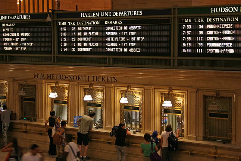 Grand Central Schalter