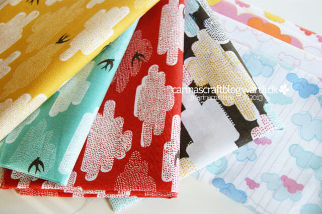 Cloud fabrics for quilt