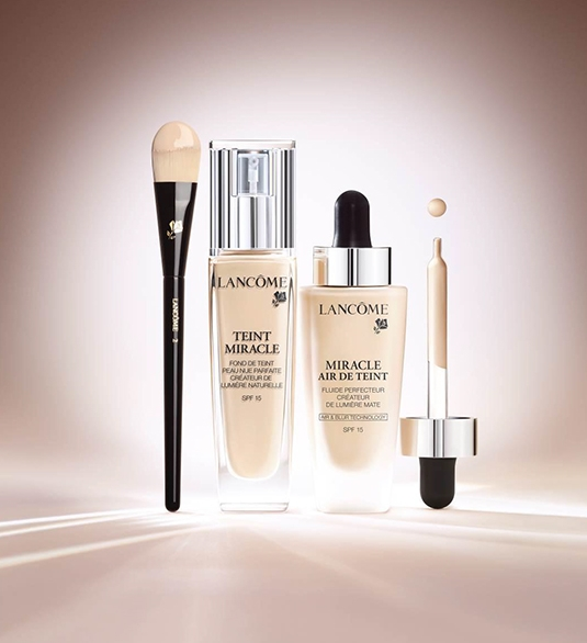lancome miracle air de teint teint miracle spf 15 bare. Black Bedroom Furniture Sets. Home Design Ideas