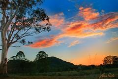 Sunset Over Mnt Eerwah
