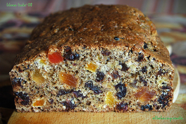 Fruity tea bread