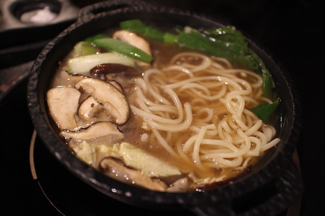 Shabu Style Stew with Noodles at Yoree