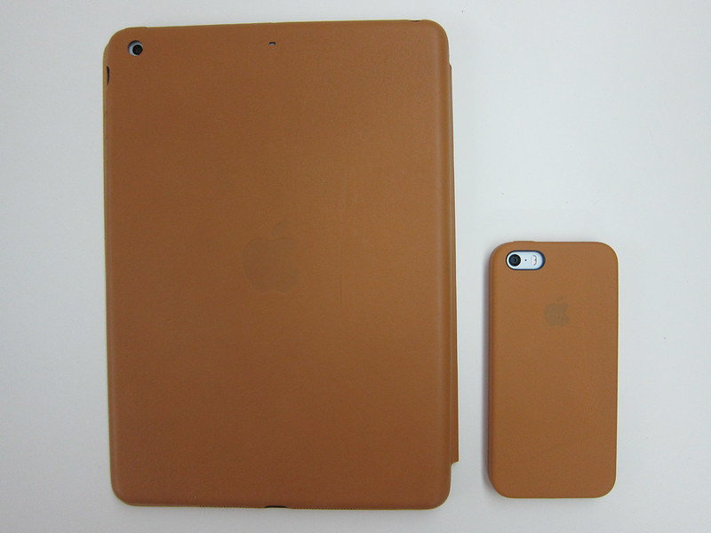 Apple iPhone 5s Case - With iPhone 5s & iPad Air (Back)