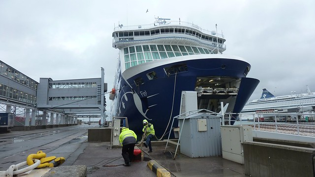 MS Finlandia in Tallinn Port