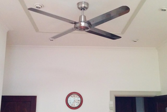 Ceiling fan and the forthcoming heat apocalypse daniel bowen ceiling fan in kitchen aloadofball Images