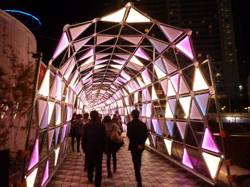 東京ドームシティ WINTER ILLUMINATION クリスタルアベニュー