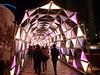 東京ドームシティ WINTER ILLUMINATION ルミナストンネル
