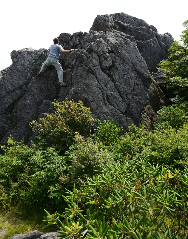 Easy to see why Grayson Highlands is a bouldering mecca