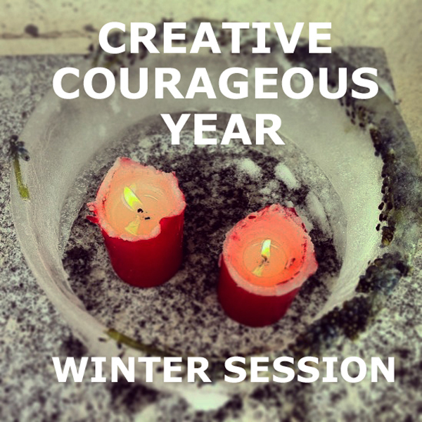 sponsor spotlight : Creative Courageous Year by Stephanie Levy | Emma Lamb