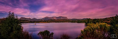 california usa mountains water clouds sandiego lakeside shrubs lakejennings