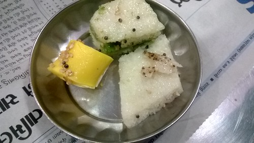 Taste Samples- Dhokla,Khandvi and Barfi Dhokla