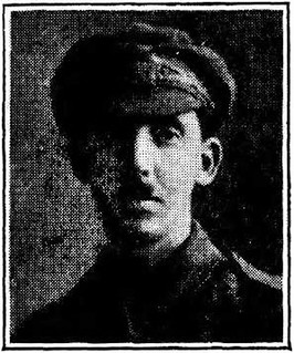 Rifleman Clements David James Barnes, aged 22, had served at