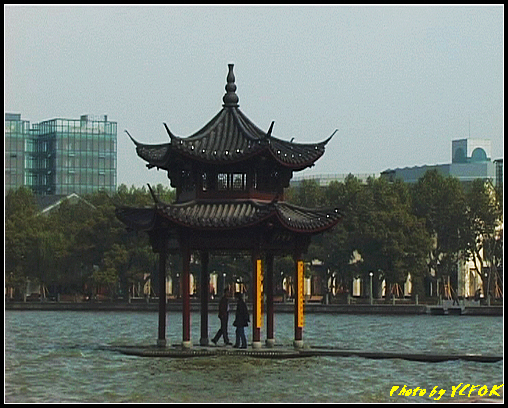 杭州 西湖 (其他景點) - 021 (古湧金門附近景點 湖濱路的湖畔)