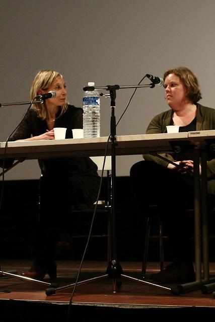 Clotilde Charreton et Hélène Brochard - Journée d'étude de l'ABF sur les bibliothèques dans les établissements pénitentiaires