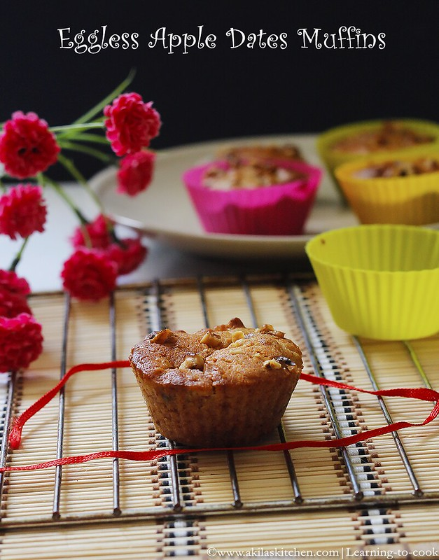 apple and dates muffins