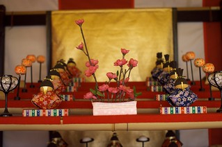 Hina doll in Takatori town (Nara) No.1.