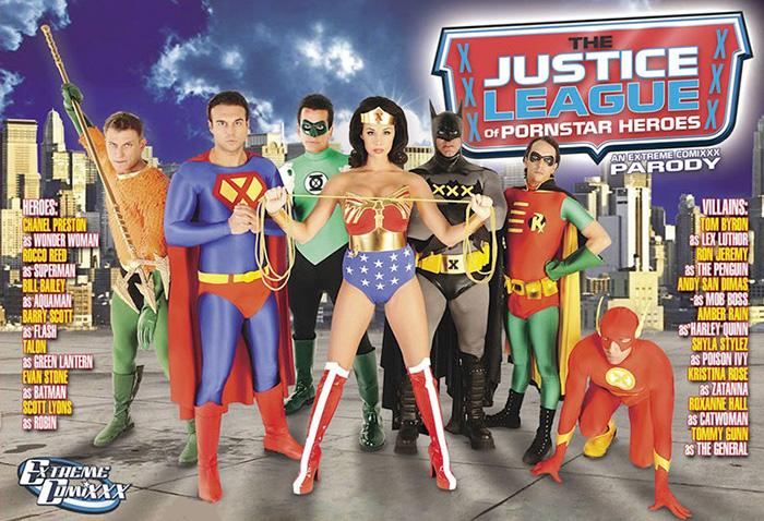 Parody justice league xxx