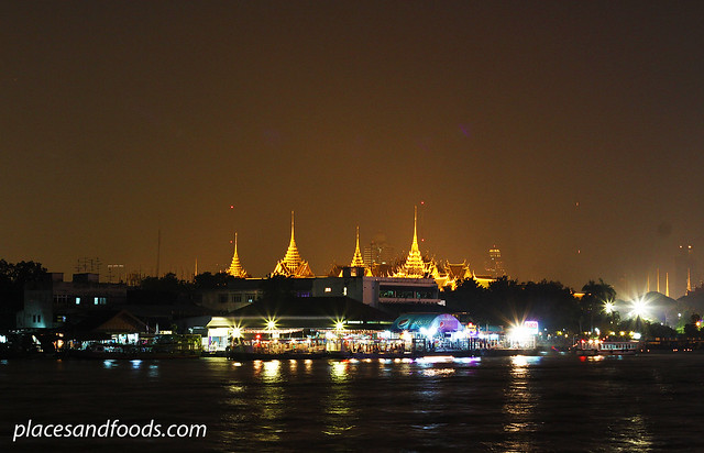 bangkok night view