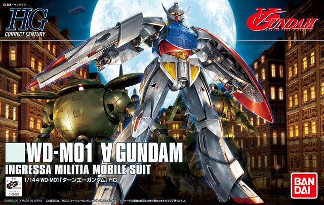 HGCC Turn A Gundam - Box Art